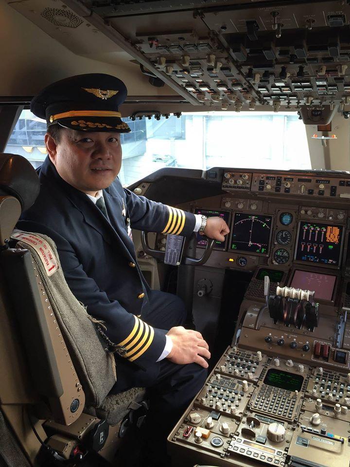 บนเครื่องบิน B747