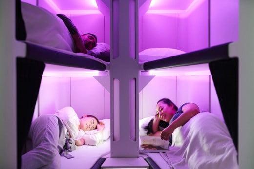 SkyNest Air New Zealand